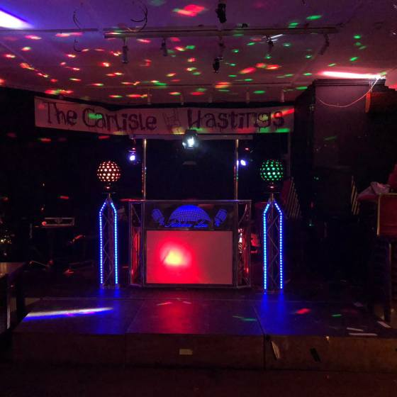 ritchie lee christmas party dj hastings